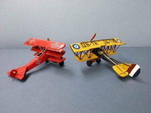 World War One replica planes