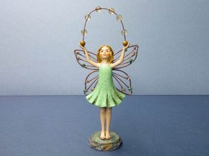 "10"" fairy - perfect for deck plants, patio or garden."