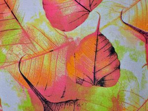 Leaves - Mauve