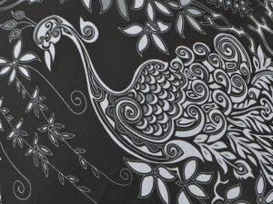 Peacock - Black & White