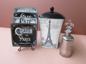 French inspired plates