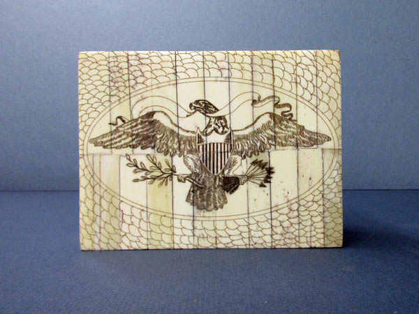 Faux Scrimshaw box