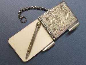 antique note pad