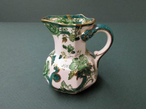 Mason's Ironstone pitcher.